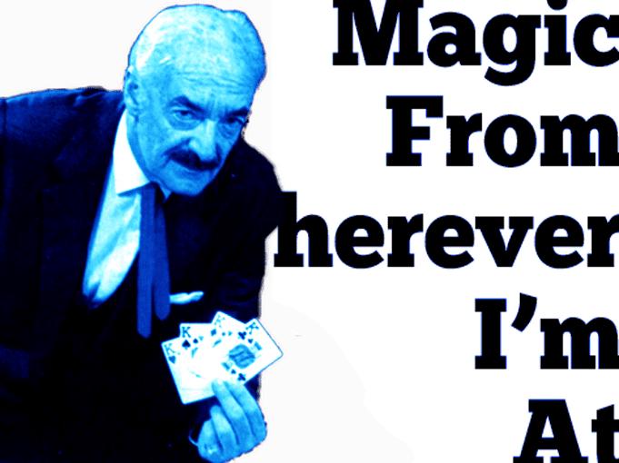 Magician Rene Lavand Magic podcast